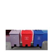 Coletores de Lixo Para Coleta Seletiva