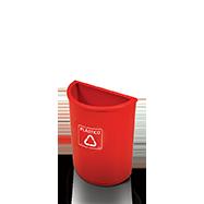Coletor de Lixo Reciclado.